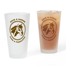Ride A Togolese Pint Glass