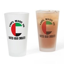 Made In United Arab Emirates Pint Glass