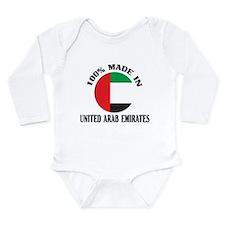 Made In United Arab Emirates Long Sleeve Infant Bo