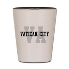 VA Vatican City Shot Glass