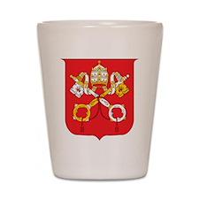 Vatican Coat Of Arms Shot Glass