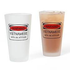 Attitude Vietnamese Pint Glass