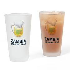 Zambia Drinking Team Pint Glass