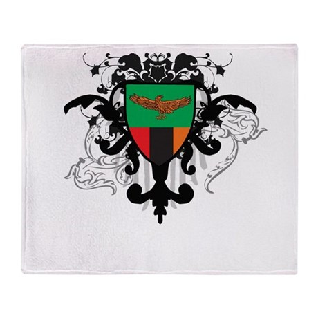 Stylish Zambia Throw Blanket