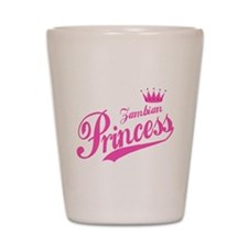 Zambian Princess Shot Glass