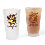 Butterfly Zimbabwe Pint Glass