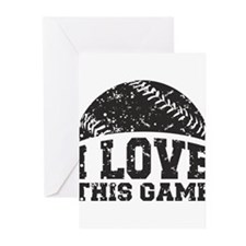 I Love This Game Greeting Cards (Pk of 20)