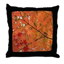 Autumn tint Throw Pillow