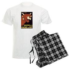 Laughing Cow pajamas