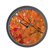 Autumn tint Wall Clock