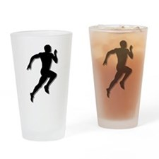The Runner Pint Glass