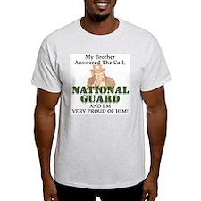 National Guard Brother Ash Grey T-Shirt