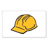 Hard hat construction helmet Decal