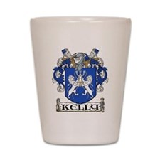 Kelly Coat of Arms Shot Glass