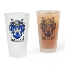 Kelly Coat of Arms Pint Glass