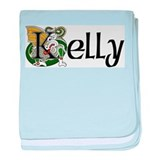 Kelly Celtic Dragon baby blanket
