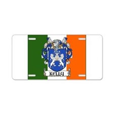 Kelly Arms Irish Flag Aluminum License Plate