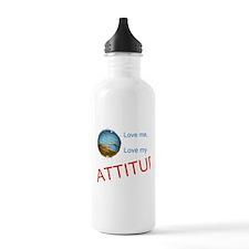 Love me, love my ATTITUDE Water Bottle