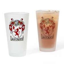 Keogh Coat of Arms Pint Glass