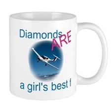 Diamonds ARE a girl's best fr Coffee Mug