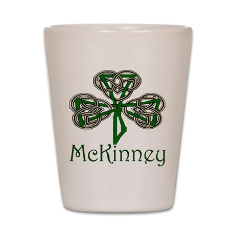 McKinney Shamrock Shot Glass