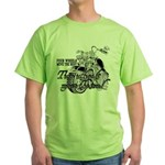Two wheels move the soul Green T-Shirt