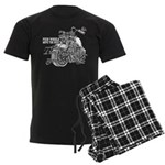 Two wheels move the soul Men's Dark Pajamas