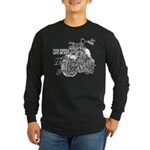 Two wheels move the soul Long Sleeve Dark T-Shirt