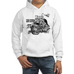 Two wheels move the soul Hooded Sweatshirt