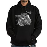 Two wheels move the soul Hoodie (dark)