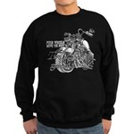 Two wheels move the soul Sweatshirt (dark)