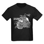 Two wheels move the soul Kids Dark T-Shirt