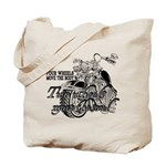 Two wheels move the soul Tote Bag