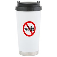 No Fair Weather Friends Ceramic Travel Mug