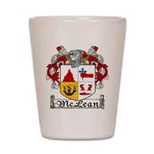 McLean Coat of Arms Shot Glass