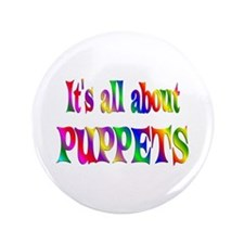 """About Puppets 3.5"""" Button (100 pack)"""