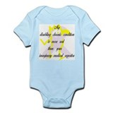 Chronic Condition Quote Infant Creeper