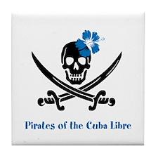 Pirates of the Cuba Libre Tile Coaster