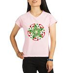 Celtic Christmas Star Women's Sports T-Shirt