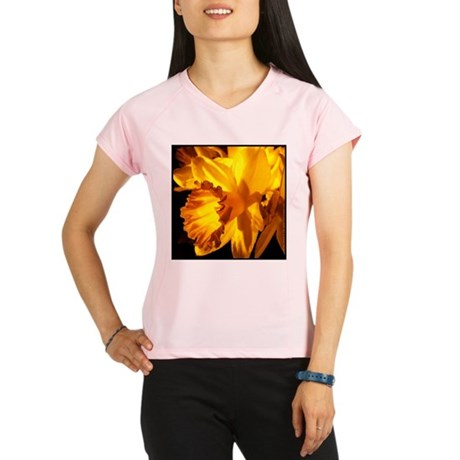 Yellow Daffodil Women's Sports T-Shirt