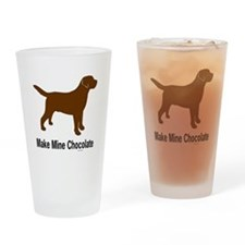 Make Mine Chocolate Lab Pint Glass