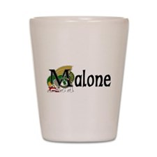 Malone Celtic Dragon Shot Glass