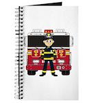 Fireman and Fire Engine Journal