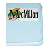McMillan Celtic Dragon baby blanket