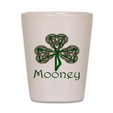 Mooney Shamrock Shot Glass