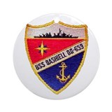 USS DASHIELL Ornament (Round)