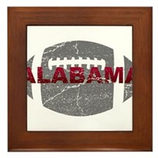 Alabama Football Framed Tile