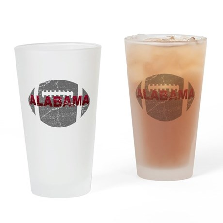 Alabama Football Pint Glass