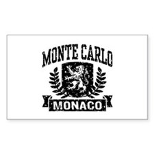 Monte Carlo Monaco Decal