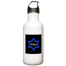 Yeshua Star of David (Blk) Stainless 1.0L Water Bo